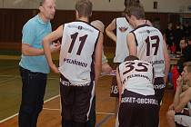 Pelhřimovští basketbalisté v extraligové části ještě nevyhráli. Ve dvou posledních zápasech ale od ukončení série porážek nebyli daleko.