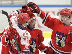Pelhřimovští začali v prvním přípravném zápase střílet góly až ve druhé polovině, přesto nakonec sahali po vítězství i v normálním hracím čase.