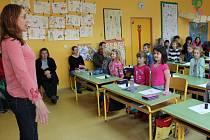 Předškoláci se seznámili se školním prostředím.