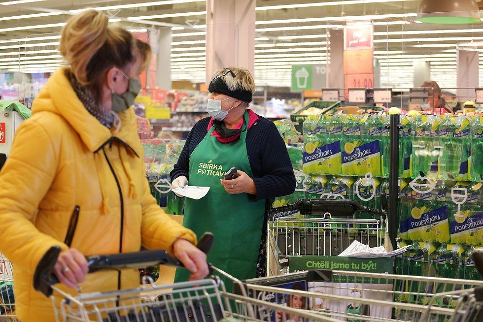 Nejen na Vysočině se v sobotu 21. listopadu uskutečnila podzimní Sbírka potravin.
