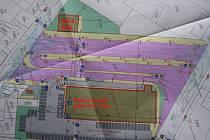 Plán budoucí podoby autobusového nádraží v Pelhřimově