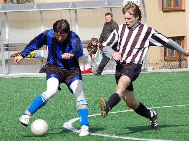 Spravedlivá byla dělba bodů v zápase mezi Košeticemi a Žirovnicí B. Utkání neslo všechny znaky začátku sezony.