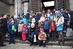Pelhřimovští skauti se vydali v sobotu 15. prosince pro Betlémské světlo do Lince. Foto: Pavlína Malátová