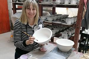 Kateřina Netolická a Denisa Špundová vyrábí v Mnichu keramiku pod značkou Minet. Foto: archiv Keramického Ateliéru Minet