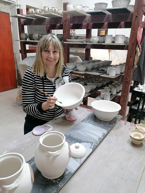 Kateřina Netolická a Denisa Špundová vyrábí vMnichu keramiku pod značkou Minet. Foto: archiv Keramického Ateliéru Minet