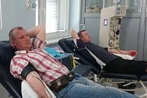 Podle údajů se do odběrů krevní plazmy zatím zapojují v pelhřimovské nemocnici více muži než ženy.