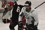 Budějovický celek ukázal solidní hokejovou kvalitu, důrazně si počínal i v osobních soubojích.