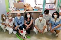 Darované hračky zpříjemní dětem pobyt v nemocnici