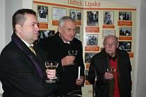Křest knihy o Lubomírovi a Oldřichovi Lipských se uskutečnil v neděli v Pelhřimově.