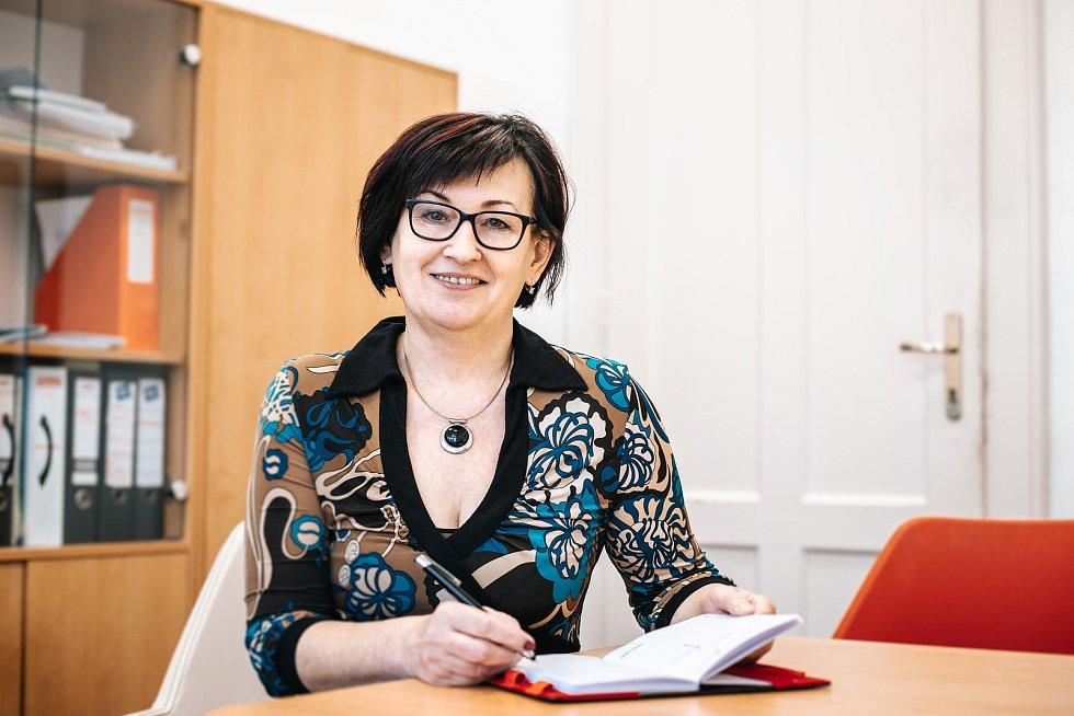 Místostarostka Humpolce Alena Kukrechtová.