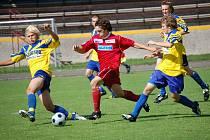 Starší dorostence pelhřimovského FK ke skvělým současným výsledkům nastartovala vydřená domácí výhra nad Vyškovem.