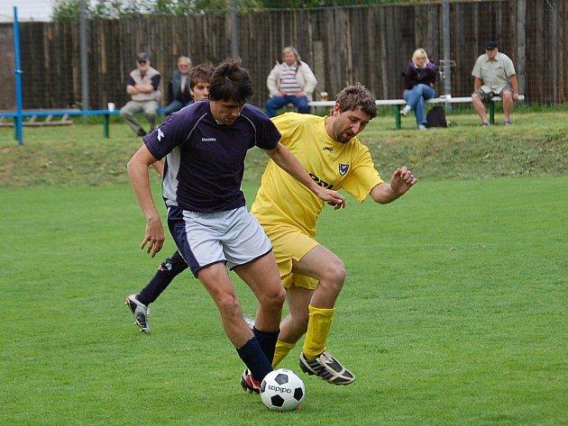 Fotbalisté Jiřic započnou cestu za návratem do Poutník ligy zápasem proti nováčkovi z Mnichu.