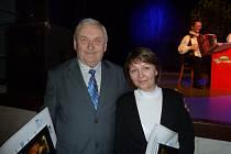 Jaroslav Hájek z Kaliště představil na koncertu poprvé svou novou skladbu Pelhřimovská polka.