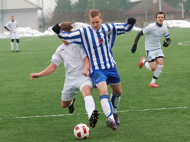 David Morava sice vstřelil jeden z gólů staršího dorostu Humpolce, ale po zápase moc důvodů k radosti neměl. Jeho tým totiž prohrál s Bohunicemi 2:6.