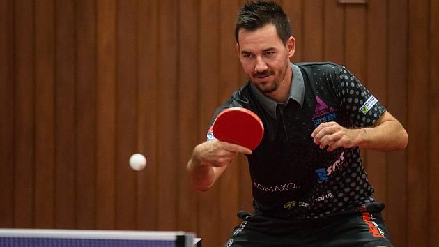 Tomáš Tregler při tréninku.