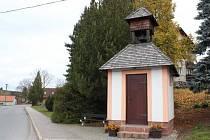 Kaple se zvonicí v Bohdalíně je v provozu od roku 2008.