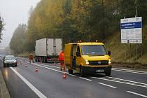 Opravy silnice na Humpolec končí.
