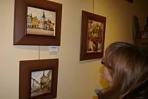 Až do 4. ledna je v pelhřimovské galerii M k vidění předvánoční výstava obrazů Jiřího Kristena.