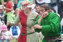 Středověké slavnosti na Orlíku se povedly na výbornou.
