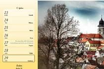 Autorem fotografií, které doplňují kalendář Počátecká zákoutí 2017, je Josef Preisinger mladší.