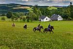 Na Vysočině se nachází téměř devět set kilometrů tras vhodných pro jízdu na koni.