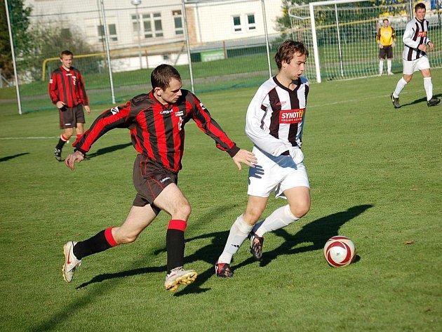 V soubojích s týmy z Pelhřimovska získaly Speřice jen bod. V Pelhřimově (na snímku je Václav Strnad) prohrály, v Humpolci remizovaly.