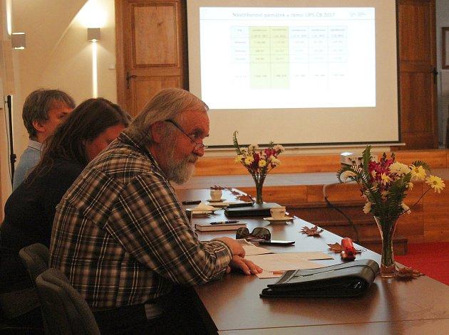 Ve čtvrtek 2. listopadu se na zámku v Telči uskutečnila tisková konference spojená s koncem turistické sezony na hradech a zámcích, které se mimo jiné zúčastnili také kasteláni čtyř památek, o které se stará Národní památkový ústav v Českých Budějovicích.