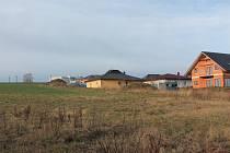 Lokalita U Unika v Pacově se letos rozroste o sedm nových stavebních parcel.
