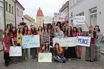 V Pelhřimově se objevili hippies.