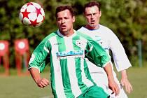 Fotbalisté Kamenice nad Lipou v posledním utkání sezony vyhráli v Kožlí 6:0 a radují se z postupu.