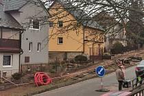V Pelhřimově pokračuje výstavba optické sítě pro rychlý internet.