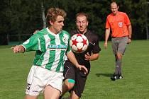 O dva góly už prohrávali fotbalisté Kamenice nad Lipou v utkání před vlastními fanoušky proti Lukám. Nakonec vybojovali alespoň bod za remízu 2:2.