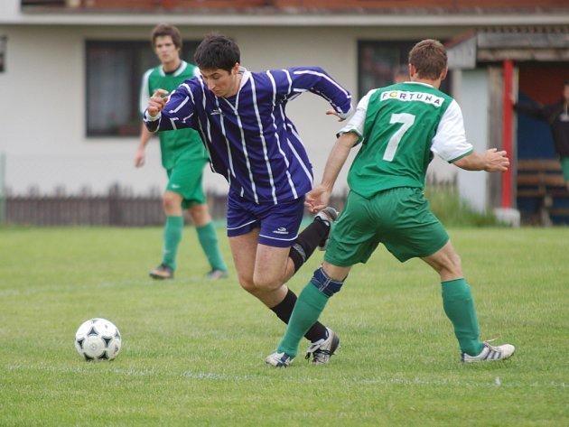 Finálový duel okresního kola fotbalové asociace
