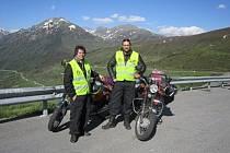 Martin Veleta a Ondřej Hájek (na snímku zleva) zamířili do španělského vnitrozemí.