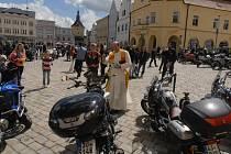 Loňské Žehnání motorek sklidilo v Pelhřimově velký ohlas. Letošní akce je naplánována na sobotu 24. května.