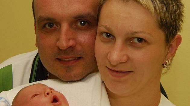 Anežka Březinová z Humpolce se narodila 16. května 2008, 3360 g.