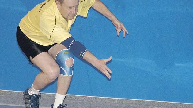 Bez jakékoliv nervozity mohl svůj divizní zápas absolvovat pelhřimovský Bohumil Nentvich. Jeho chotovinská soupeřka Křemenová výkonnostně spadala do krajské soutěže.