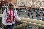 Z hlediska fotbalového náboženstvé má Jirka Beránková jasno. Slavie navždy.