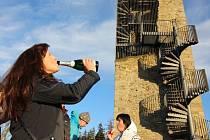 Poslední den v roce mohli zájemci vystoupat na Orlík.