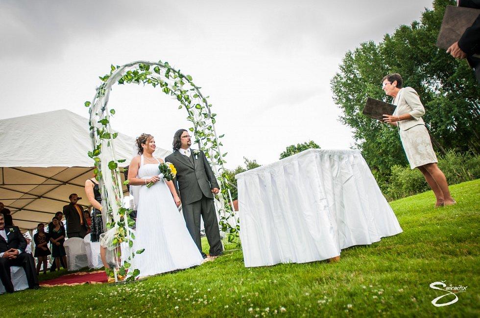 Svatba na Váňově statku v Dubovicích