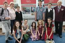 Žáci Základní školy Hálkova v Humpolci opět uspěli v celorepublikové soutěži Srdce s láskou darované.