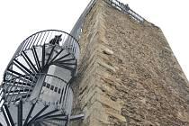 1800 návštěvníků - Zhruba tolik jich během čtyř dní vystoupalo na rozhlednu na hradě Orlík.