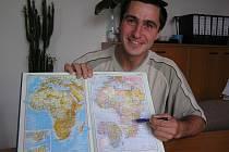 Jiří Štercl se koncem července vypravil do africké Zambie