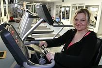 Iva Váňová se ve sportovně relaxačním centru Kohinor cítí po třech týdnech cvičení jako doma.