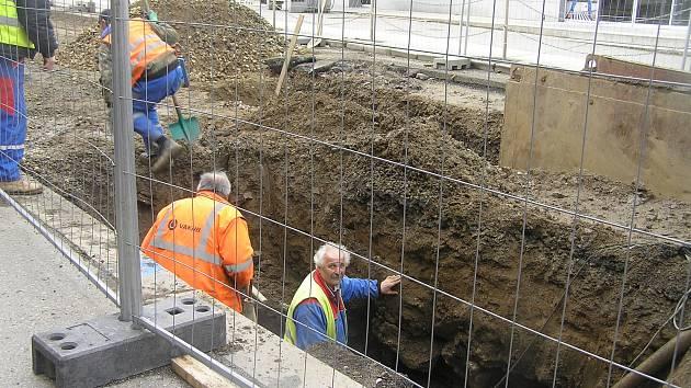 Rekonstrukce silnice, ilustrační foto