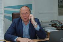 Václav Duben vede humpolecký AFC z pozice prezidenta klubu čtvrtý rok.