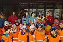 Vánoční dárečky od dětí z Mateřské školy Korálky potěšily seniory