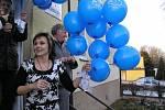 Celkem 331 modravých balonků vzlétlo v úterý 9. prosince 2008 přesně v 15.40 hodin od jiřické školy. Na každém z nich se třepetalo psaníčko vyjadřující náklonnost Ježíškovi jako neodlučitelnému symbolu českých Vánoc.