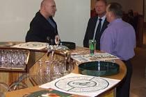 Pivovarníci si po jednotlivých seminářích vyměňují užitečné informace.