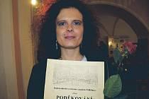 Monika Šípalová se letos dočkala nominace na Křesadlo, cenu pro nejlepšího dobrovolníka Pelhřimovska.